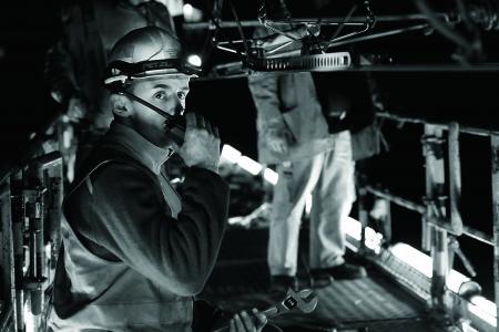 Techniciens caténaire